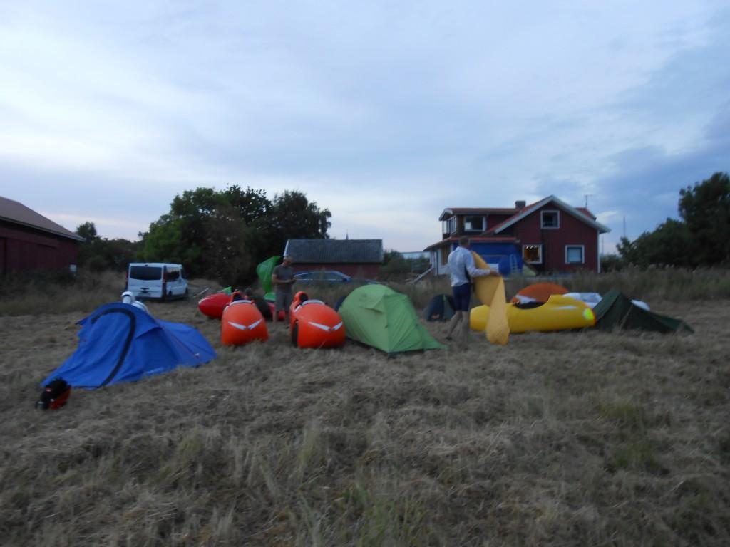 Mark camping