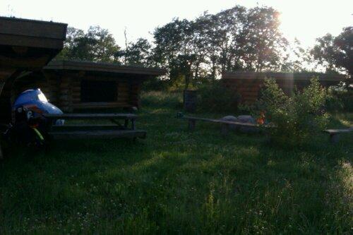Shelter nær Dokkedal