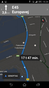 Google map SmartPhone zoom