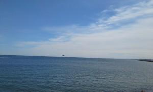 Helikopterøvelse ud for Frederikshavn Havn