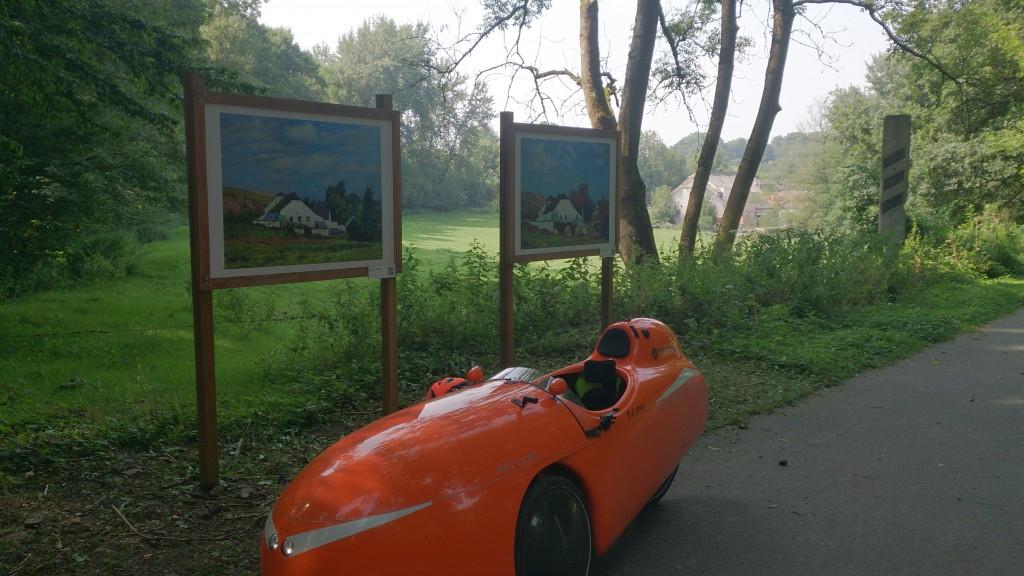 Malerier i Skoven