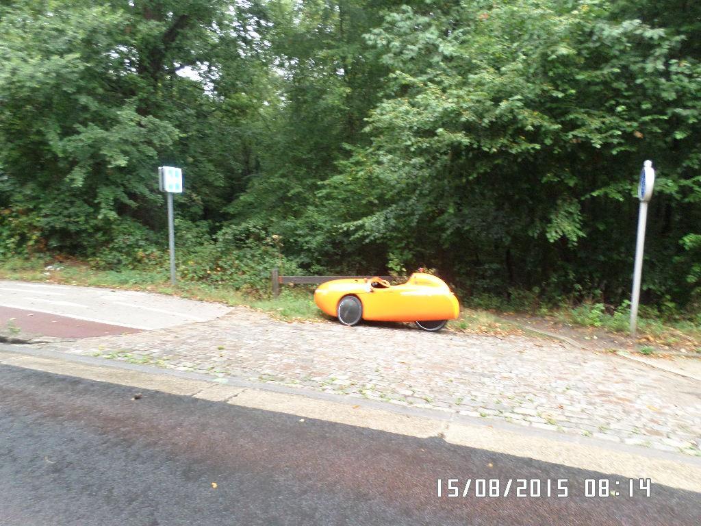 På vej fra Bois de Boulogne