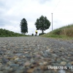 PBP 2015 Randonneurs on the road