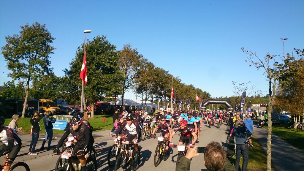 Start Nordic MTB Race 100 km