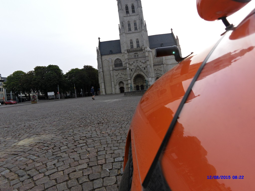 Strada på Tienen Torv i Belgien