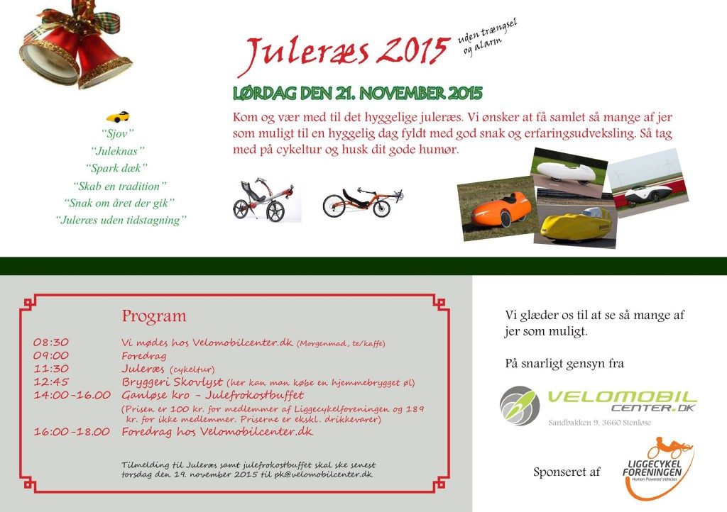 Program Juleræs 2015