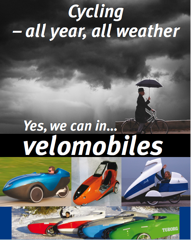 Velomobile All Year-All Weather