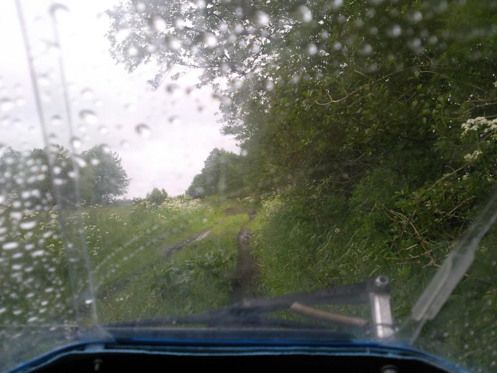 """Leitra på """"grusvej"""" eller mudder vej"""