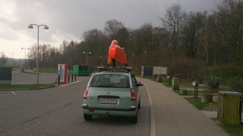 Strada Matrix på vej til Århus