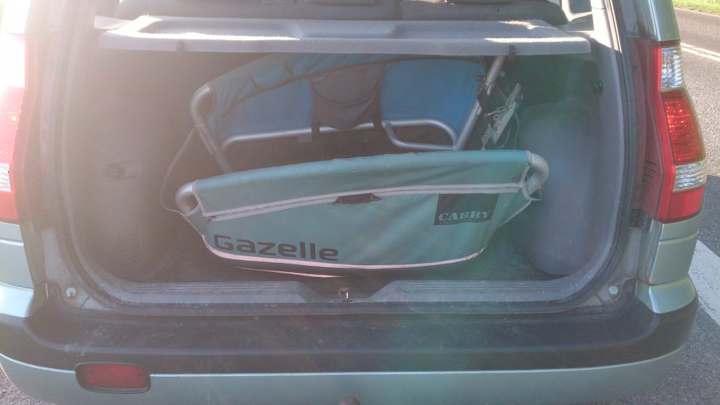 Gazelle Cabby 7 Cargo kasse