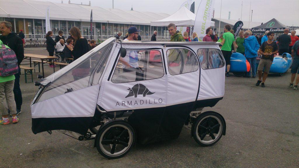 Armadillo ved Göteborg Cykelkultur festival