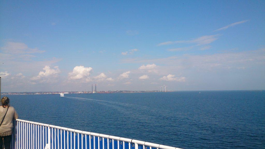Færgen hjem til Frederikshavn