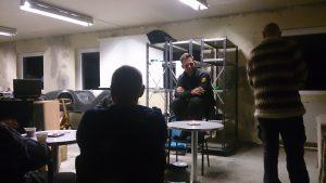 André fortæller om planer for velomobilcenter dk
