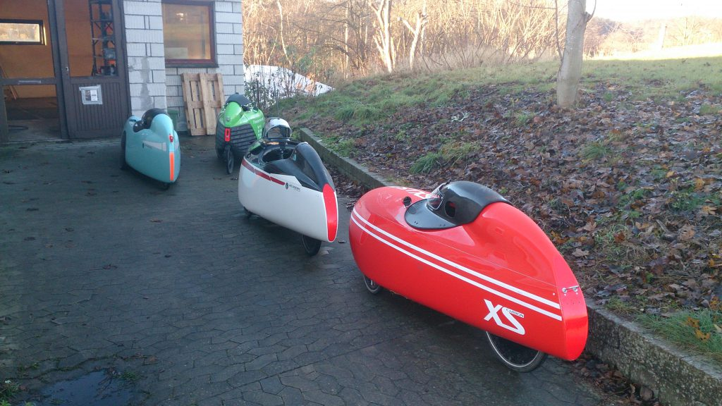 Velomobil parkering hos velomobilcenter dk