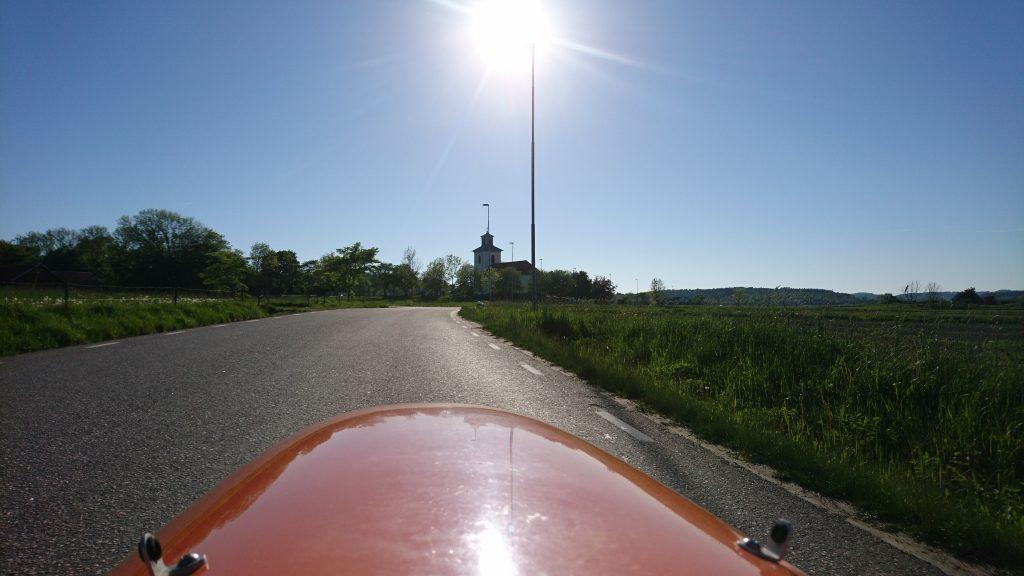 Strada vue mod kirke og Strada Carbon